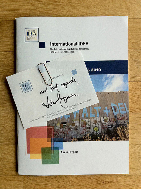 CTRL ON THE COVER OF IDEA ANNUAL REPORT