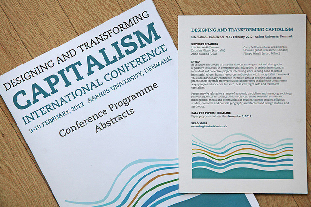 DESIGNING AND TRANSFORMING CAPITALISM INTERNATIONAL CONFERENCE