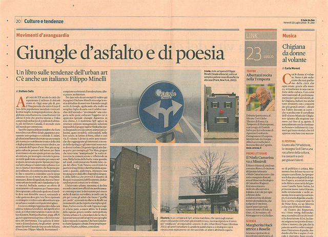 ARTICLE: IL SOLE 24 ORE