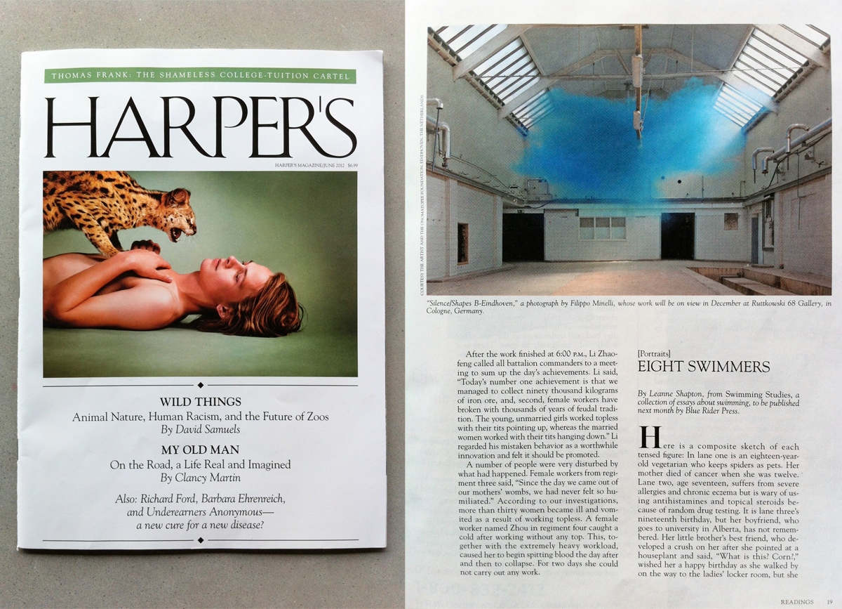 ARTICLE: SILENCE/SHAPES ON HARPERS