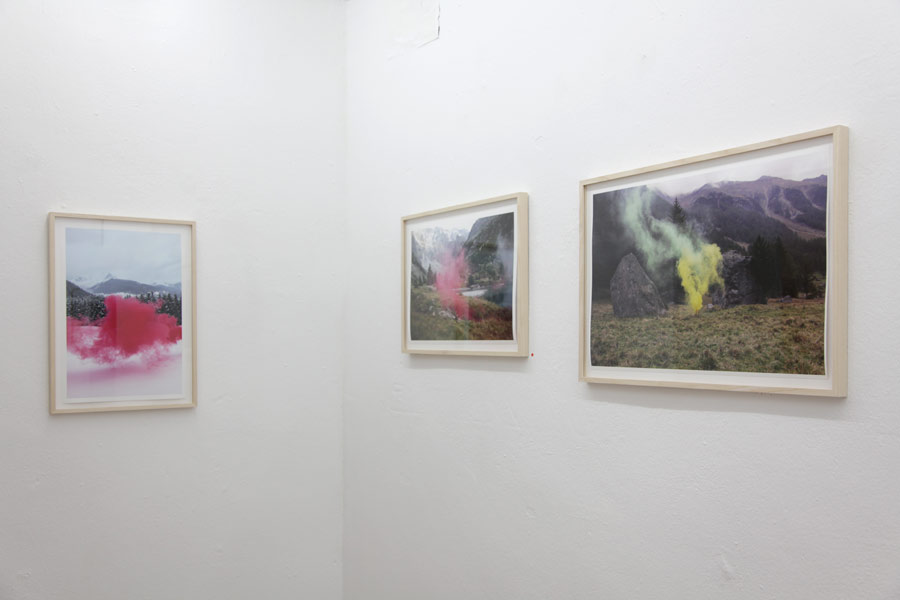 Filippo Minelli SilenceShapes solo exhibition at Ruttkowski68 Gallery in Cologne, Germany 2012